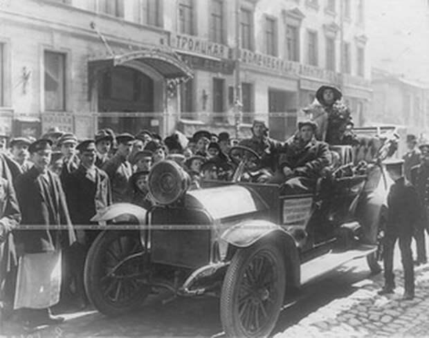 """Автопробег на автомобилях """"Руссо-Балт"""" в 1910 году Руссо-Балт, авто, история"""