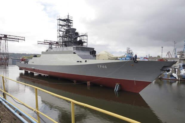 Малый ракетный корабль «Град» пополнит Военно-морской флот России