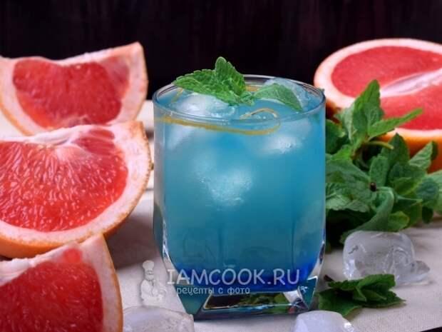 Алкогольный коктейль «Голубая канарейка» — рецепт с фото пошагово