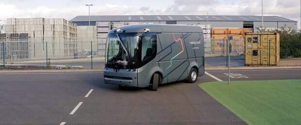 Arrival впервые испытала электрофургон Van с автопилотом без страховки