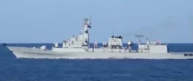 "Потопление пакистанского фрегата ""Бабур"""