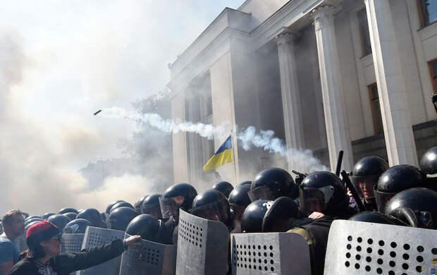 Верховную раду ко дню «незалежности» могут забросать гранатами – военный эксперт