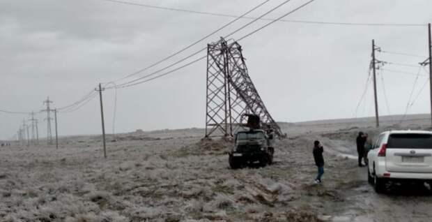 Пересмотреть стандарты качества опор ЛЭП предложил Ногаев после ЧП в Туркестанской области