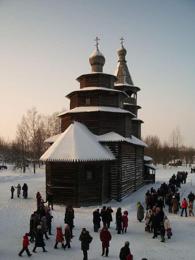 Церковь Святого Николы в Великом Новгороде.