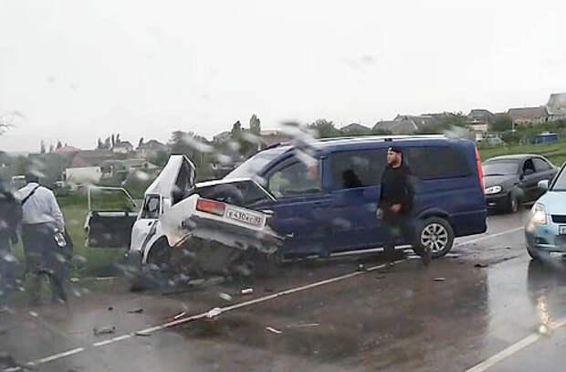 В ДТП на трассе «Симферополь – Евпатория» погиб 15-летний подросток