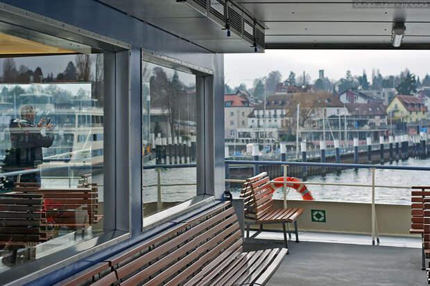 Город Констанц: Швейцарская сторона Боденского озера