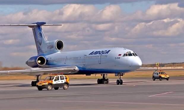 Уход легенды: Ту-154 совершил свой последний коммерческий рейс в России
