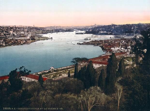 Цветные открытки Константинополя 8