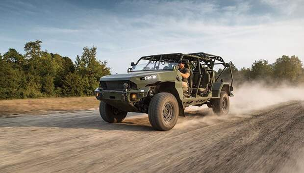 General Motors представил военный электромобиль для пехоты (ФОТО)