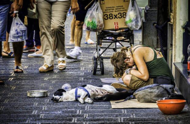 Европейские социологи предупреждают, что каждый пятый житель ЕС станет нищим
