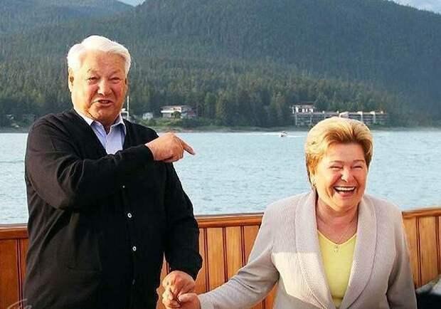 """""""Я своего мужа в жизни пьяным не видела"""". Так говорит Наина Ельцина"""