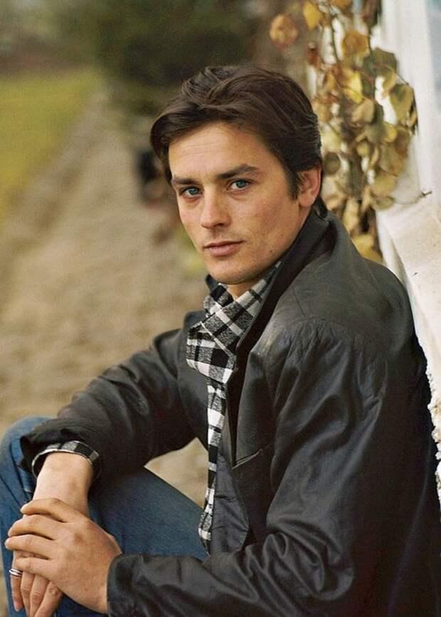 Молодой Ален Делон: портреты ушедшего времени