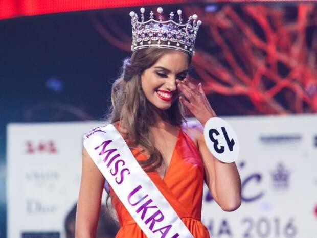 Александра Кучеренко на конкурсе красоты Мисс Украина 2016