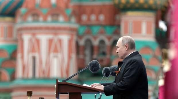 Французы признались, что завидуют россиянам после выступления Путина на параде Победы
