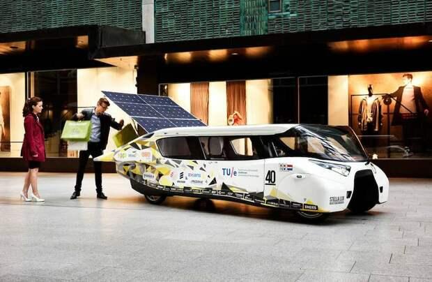 Видео: Гелиомобиль и еще 6 необычных и экологически полезных применений энергии Солнца