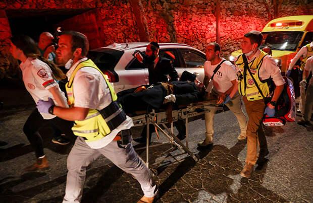 ЧП в синагоге: двое погибли, более 200 пострадали при обрушении трибуны в пригороде Иерусалима