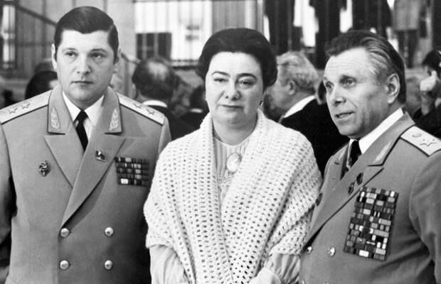 Чурбанов, Галина Брежнева и Щелоков, фото из открытых источников