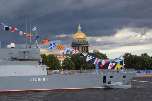 Петербург готовится к Главному военно-морскому параду