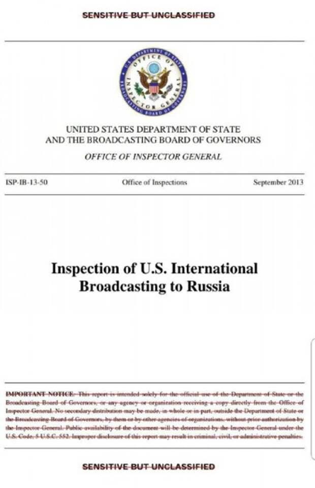 Телеканал «Дождь» официально аффилирован с Госдепом США и вместе с РБК и «Эхо Москвы» финансируется правительством США