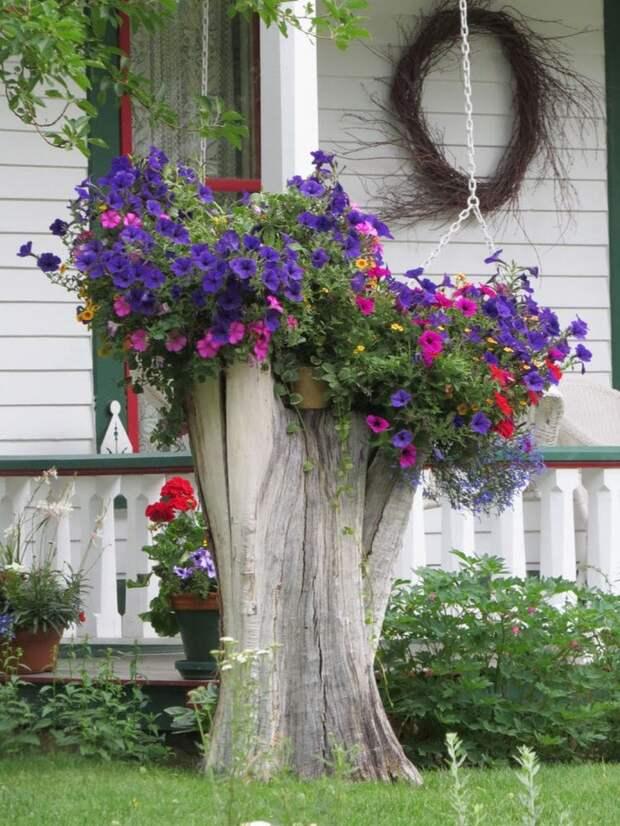 Прячем и декорируем неприглядные вещи в саду