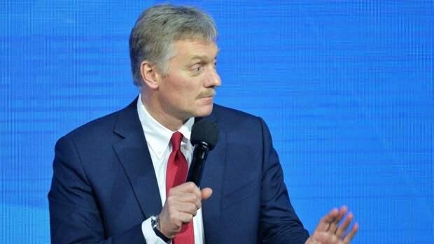 Песков посоветовал не ждать больших результатов от встречи Путин и Байдена