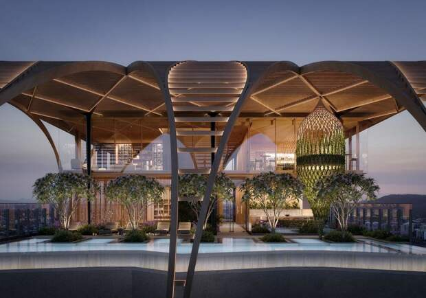 Футуристические шедевры Коичи Такада, японского архитектора, который ищет вдохновения вприроде