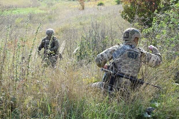 Украинские силовики у границы с Крымом готовятся к наступлению России