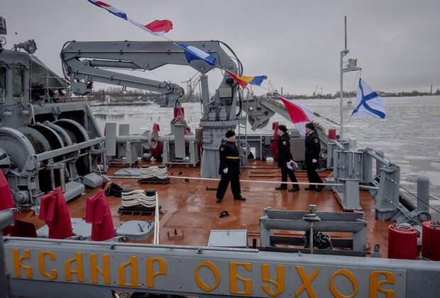 Проект 12700 тральщик «Георгий Курбатов»: обновление российского флота