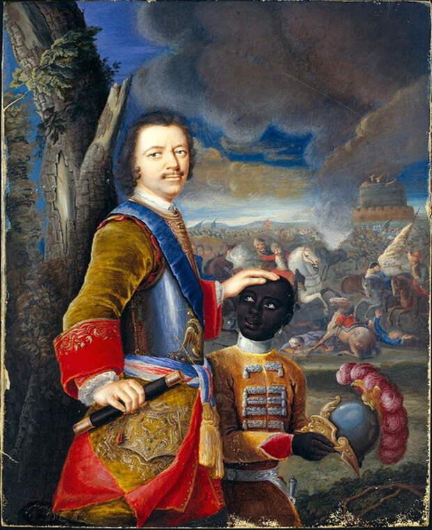 Арапу Петра Великого жена наставляла рога