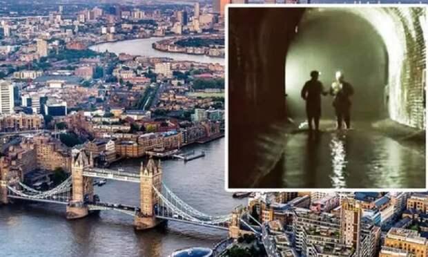 Протекающая под Лондоном тайная река угрожает британцам новой эпидемией