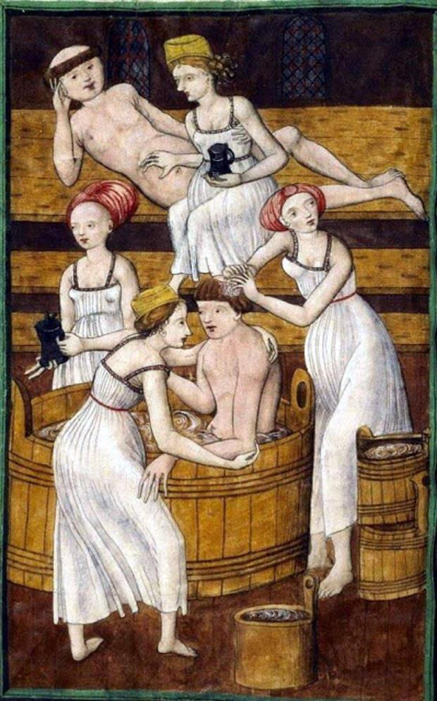 Мылись ли европейцы в раннем Средневековье?