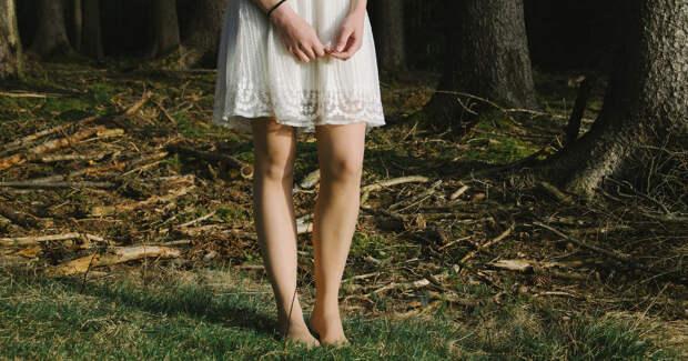 """Потащили """"принцессу"""" в лес"""