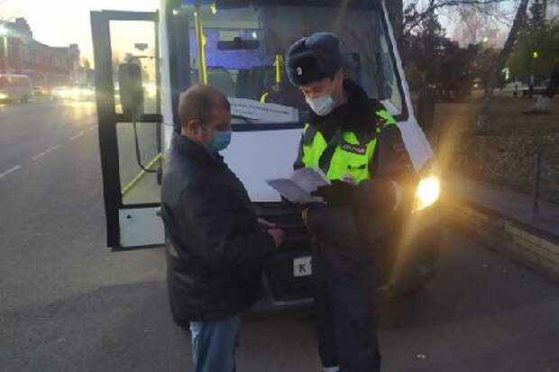 В Мичуринске выписали более 20 штрафов за нарушение масочного режима