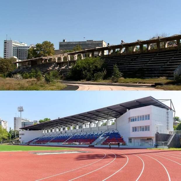 Новые «зверства оккупантов»: Россия восстановила крупнейший стадион Севастополя