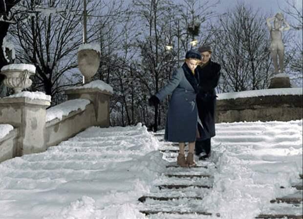 Зима в советских фильмах.