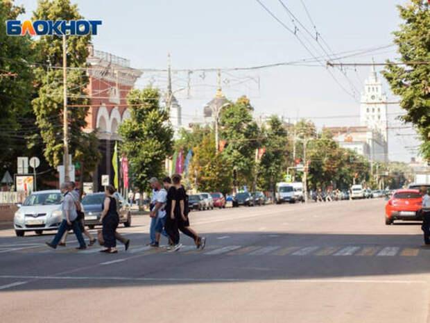 Стало известно, одобряют ли воронежцы идею пешеходного проспекта Революции