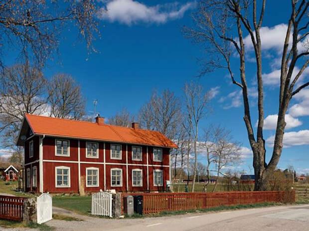 Уют с историей: прекрасная дача в здании старой сельской школы в Швеции