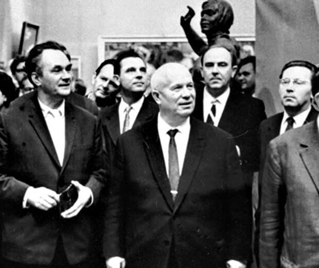 Как Хрущёв выставку авангардистов разгромил.