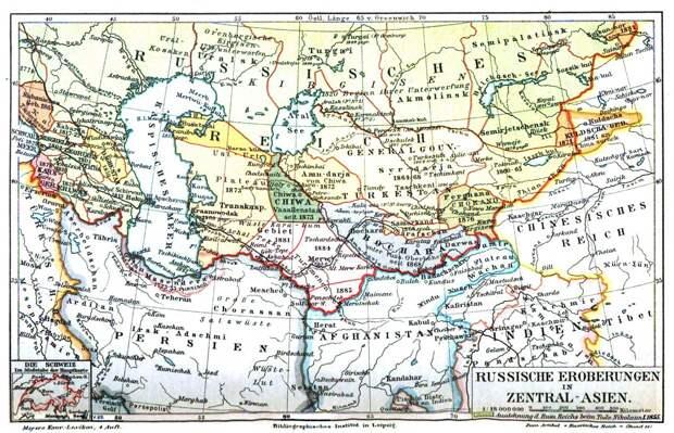 Как Россия присоединила Среднюю Азию