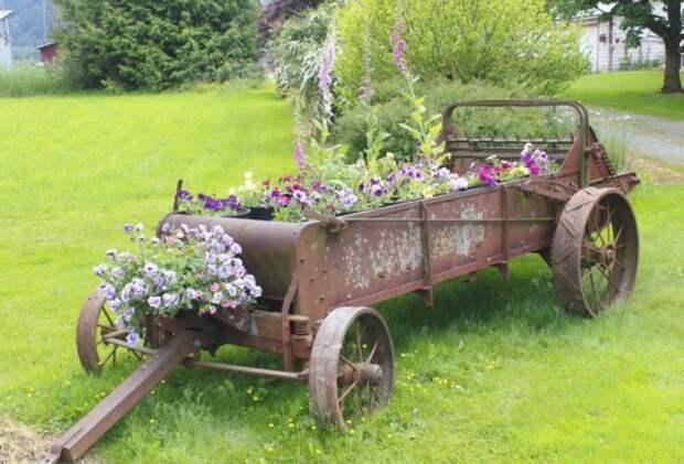 машина цветочная