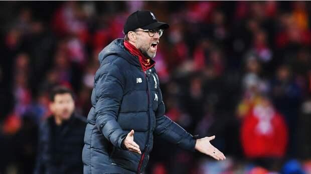 Клопп: «Ливерпуль» своей игрой облегчил жизнь «Брайтону»