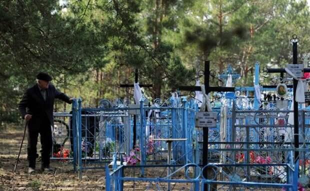 Красноярскому Горсовету кладбища покоя не дают