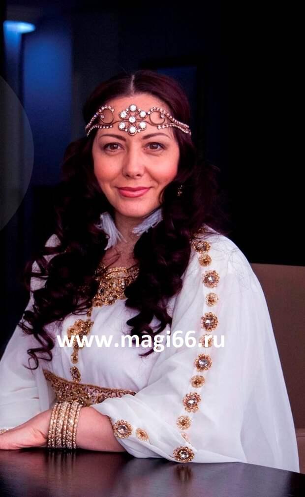 Сильнейшая Татарская ясновидящая в 7-м поколении, феноменальная гадалка, магистр высшей мусульманской магии, медиум, человек-рентген, заслуженная целительница России, родом из Башкирии. Опыт 28 лет.