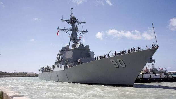 Политолог Ищенко: через эсминец Chafee США нарушали международные нормы