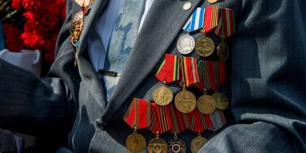 Собянин: Матпомощь к годовщине Битвы под Москвой получат 4 тыс ветеранов Фото: М. Денисов mos.ru