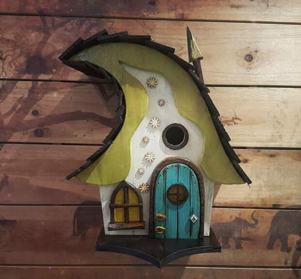 Невероятные домики для птиц Jay from Little Lodgings