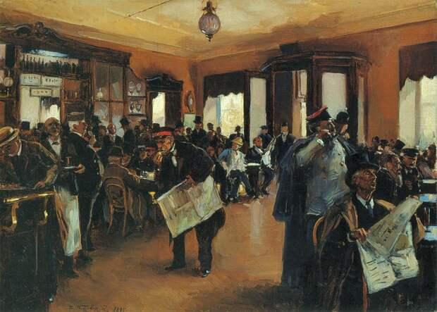 180 лет назад в России открылось первое кафе