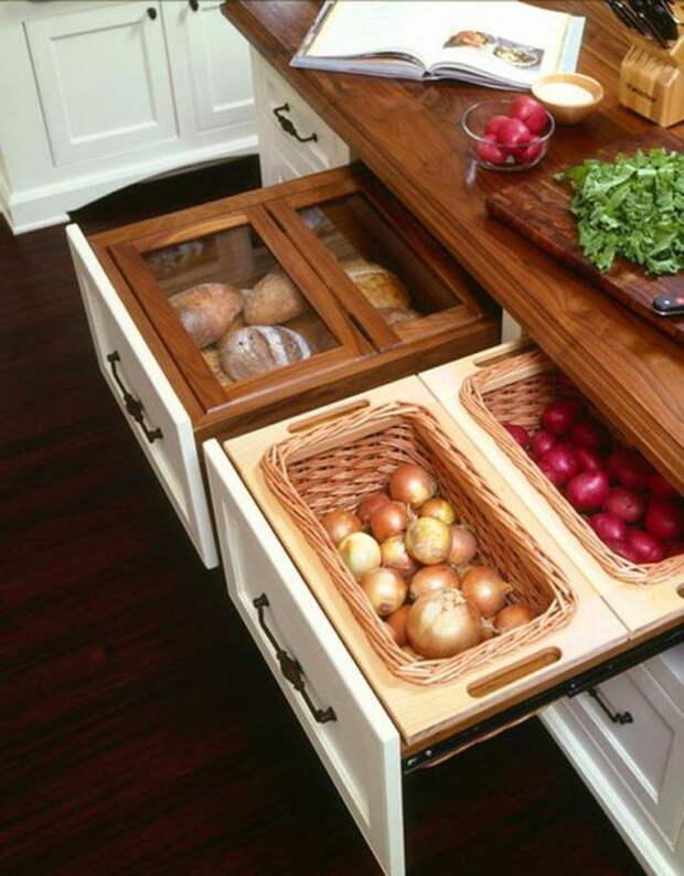Грамотное хранение на кухне — жизненная необходимость.