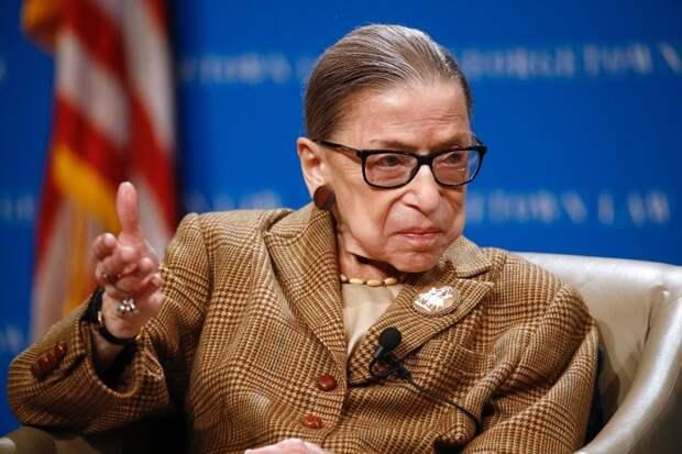 В США умерла судья Верховного суда Рут Бейдер Гинзбург
