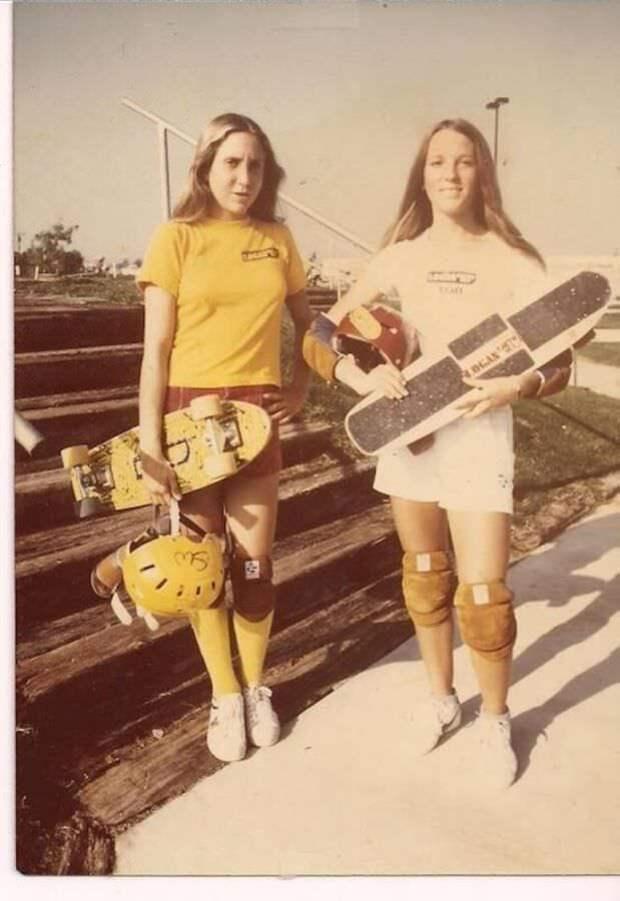 Скейтбордистки 70х